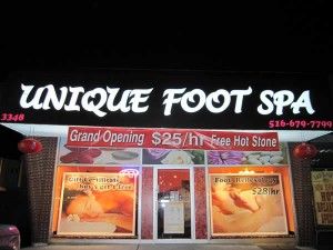 Unique Foot Spa